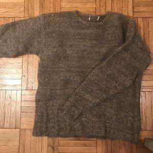 100% wool Woolrich Sweater Womens XS Tan